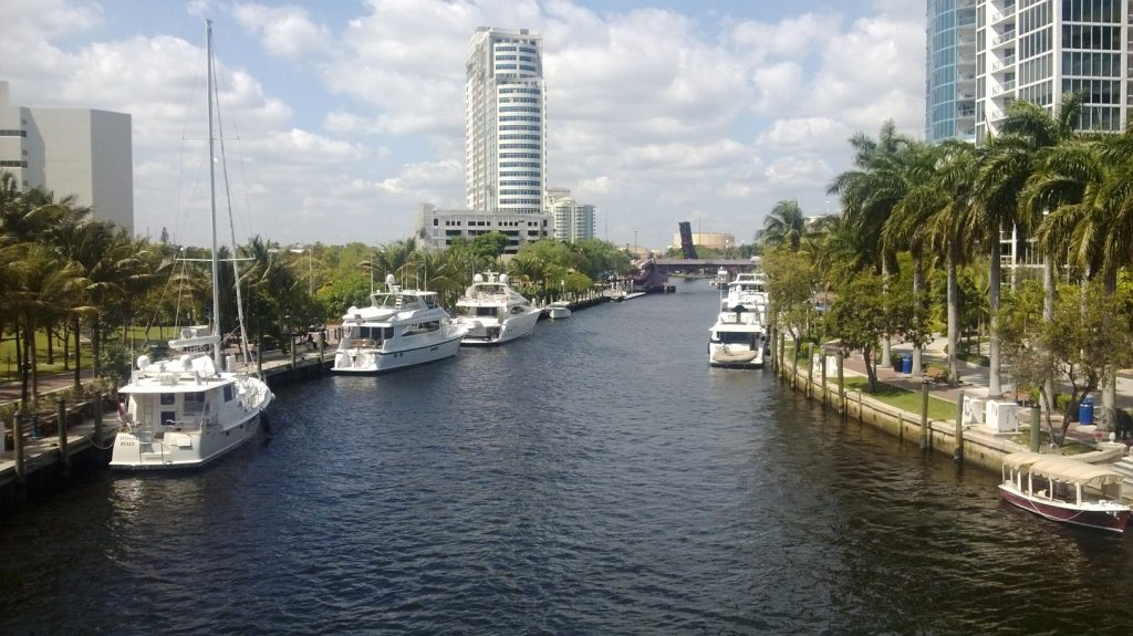 River in Ft Lauderdale